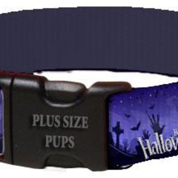 Halloween Dog Collar - Zombies