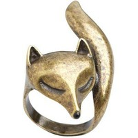 Fox Ring - Shop for Fox Ring at Polyvore