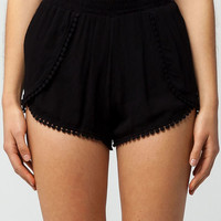 FULL TILT Pom Womens Wrap Shorts