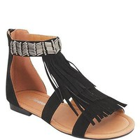 STYLISH FRINGE SANDALS