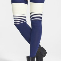 Women's Free People 'Bowlers' Thigh High Socks