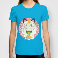Maneki - Meowth T-shirt by Daniac Design