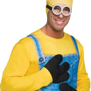 Costume Accessory: Minion Gloves - 4 Units