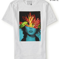 Aeropostale  Free State Tropical Girl Graphic T