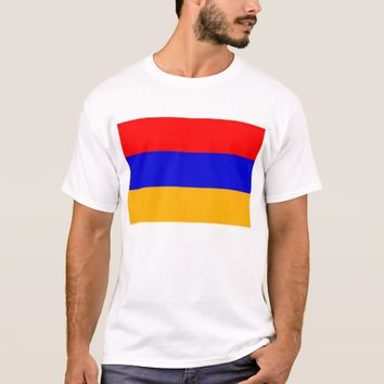 T Shirt with Flag of Armenia