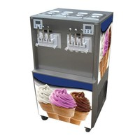 Soft Serve Ice Cream Machine 5 Flavors 20 Liters High Quality 1 Year Warranty After Sales Service
