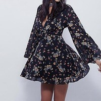 Lilou Printed Mini Dress