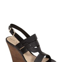 "Women's Sole Society 'Jenny' Slingback Wedge Sandal, 4 1/2"" heel"