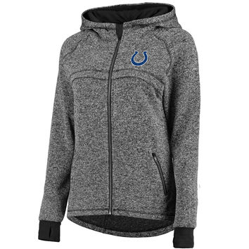 Women's Indianapolis Colts Pro Line Gray Taber Hooded Jacket