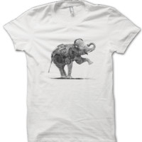 Music Lover Elephant T-Shirt