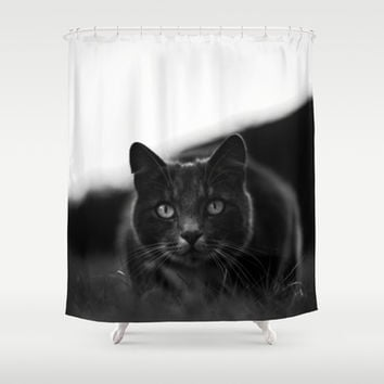 Carnivore Shower Curtain by HappyMelvin