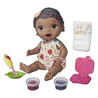 Baby Alive Interactive Talking Baby Doll Super Snacks Lily African American