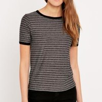 BDG Striped Ringer Tee - Urban Outfitters