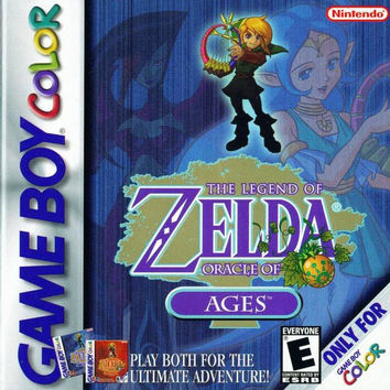 The Legend of Zelda Oracle of Ages for the Gameboy/Gameboy Color (GBC)