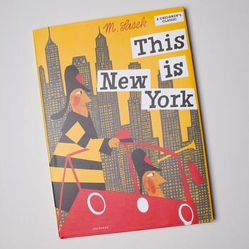 This Is New York Book by Miroslav Sasek