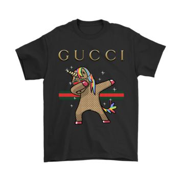 AUGUAU Gucci Dabbing Unicorn Dab Hip Hop Funny Magic Shirts