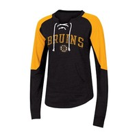 NHL Women's Lace-Up Pullover Sweatshirt