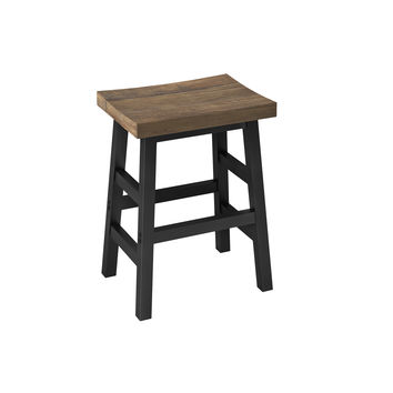 Sylvan Reclaimed Wood and Metal 26-inch Counter Stool