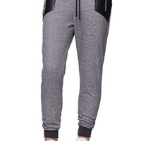LA Hearts Inset Jogger Pants - Womens Pants - Black