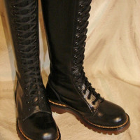 Doc Martens  LIKE NEW  Vintage Knee High Boots by HipKittyVintage