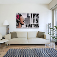 Life Is Beautiful by 40x26