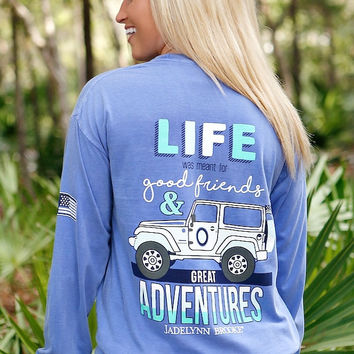 Jadelynn Brooke Jeep Life Long Sleeve Tee