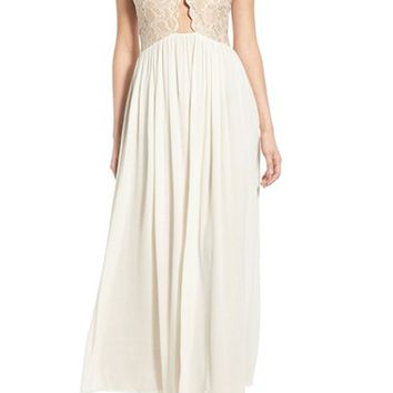 Tularosa 'Bryce' Lace Maxi Dress | Nordstrom