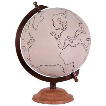 Jamie Young Canvas Large Globe