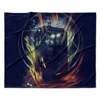 "Frederic Levy-Hadida ""It's Lightfull Inside"" Digital Fantasy Fleece Throw Blanket"