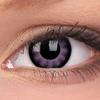 Ultra Violet Big Eyes Colour Contact Lenses, Ultra Violet Big Eyes Contacts | EyesBright.com