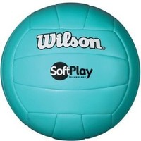 Wilson Outdoor Soft Play Volleyball (Blue)