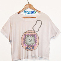 Tamogotchi Crop Top | fresh-tops.com