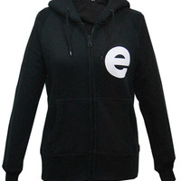 Girls E Zip Hoody (Black) | The Official Webstore for Example