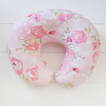 Pillow Cover | Rosebud Lane Floral Crib Baby Bedding Set