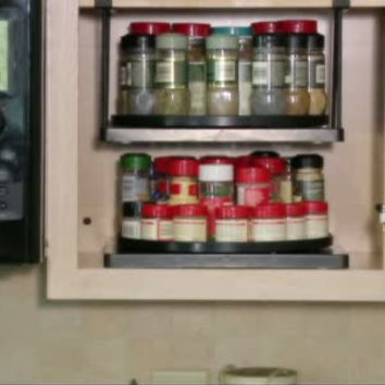 Set of 2 Cabinet and Pantry Shelf-Go-Round Organizers — QVC.com