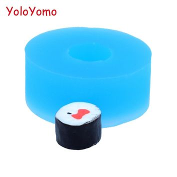 G350YL 10.9mm Caviar Sushi Roll Silicone Mold - Fondant, Cupcake Topper, Decorative, Food Grade, Candle, Resin Fimo Clay Mold