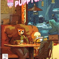 Bee and Puppycat #1 Variant B Cover