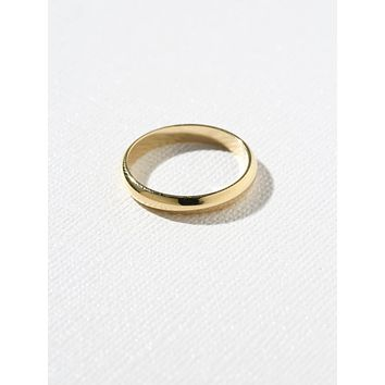 Vanessa Mooney x Gold Band Ring