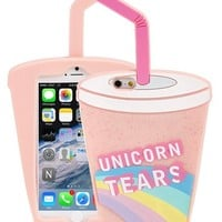Skinny Dip 'Unicorn Tears' iPhone 6 Case - Pink