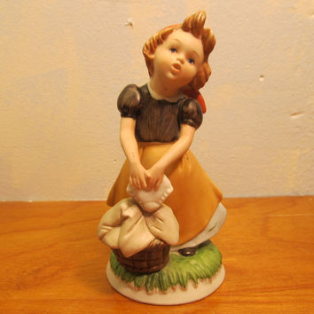 HOMCO FIGURINE # 1435 MADE IN TAIWAN
