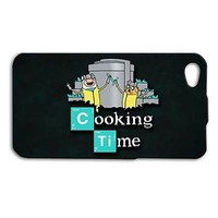 Funny Adventure Time Breaking Bad Cute Phone Case iPhone New Black Cover Cartoon