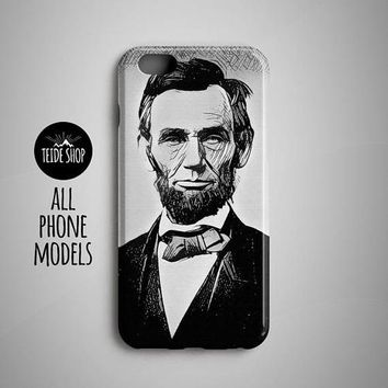 Phone Case -  Abraham Lincoln Cell Phone Case - All Styles
