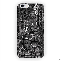 1D One Direction Art Quotes Design For iPhone 6 / 6 Plus Case