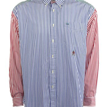 2c97f38b Vintage Tommy Hilfiger Multicolor Striped Button Down