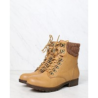 final sale - sierra falls boots - tan
