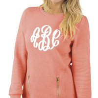 CUSTOM Monogrammed North Hamilton Sweatshirt -- Makes a Great Gift! Perfect for your Sorority!