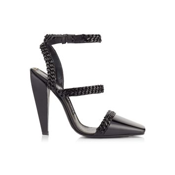 SQUARE TOE CAP CHAIN PUMP