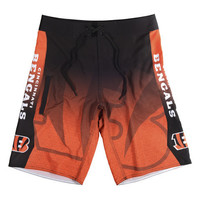 CINCINNATI BENGALS OFFICIAL NFL BOARD SHORTS