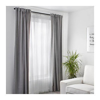 NEW IKEA LILL Mesh Long White Curtain Panels 110x98 1 Set - 2 Panels