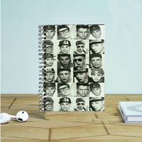 Justin Bieber Face Photo Notebook Auroid